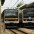 南武線209系0番台の並び!!!