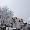 210 ホテル外観 冬 by ホテルグリーンプラザ軽井沢