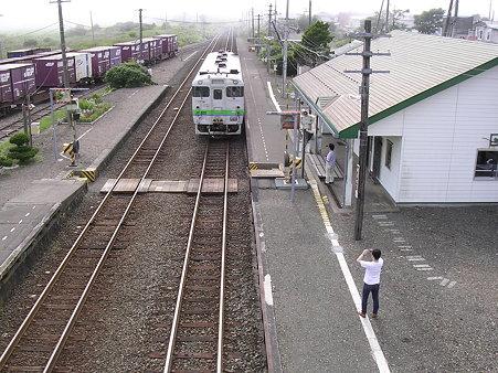 音別駅全景
