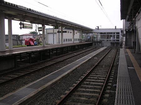 大曲駅ホーム2
