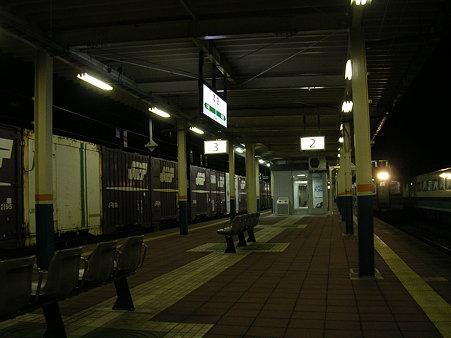 酒田駅ホーム2