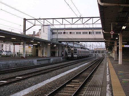 会津若松駅ホーム1