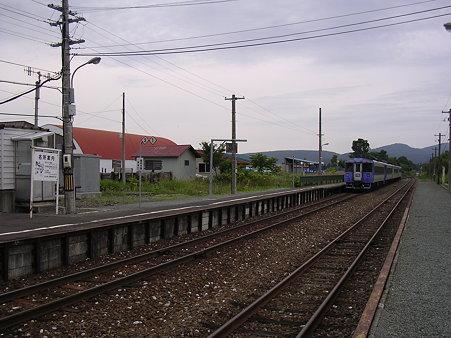 天塩中川駅ホーム1