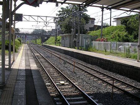 富士見駅ホーム1