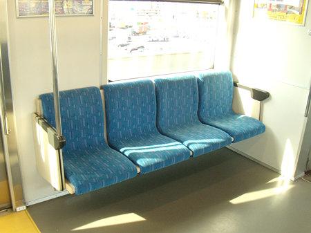 あおなみ線1106編成座席