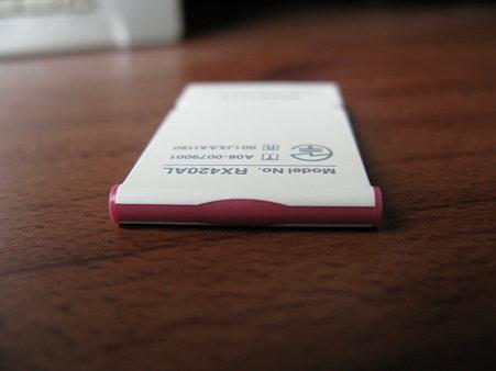 2009.09.24 WILLCOM W-SIMカード 赤耳 3/3