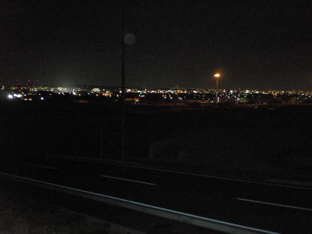 小牧テクノジャンクション工業団地から見た夜景