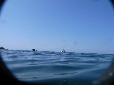 DiCAPac「WP-310」で撮影したジェットスキー