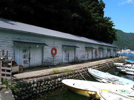 田子漁港付近の港