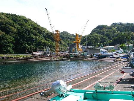 田子の造船所。こちらは「飯作造船」