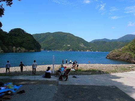 田子・瀬浜海岸と尊之島