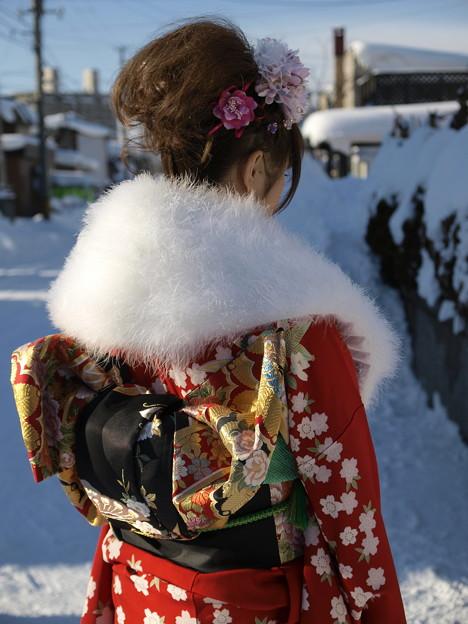 Photos: 晴れ着