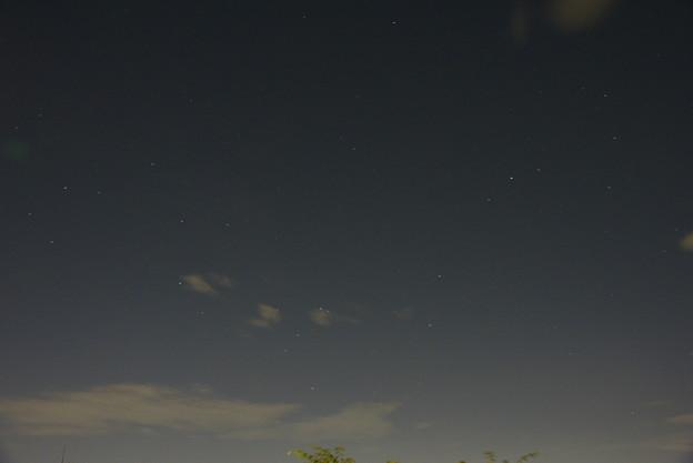 写真: さそり&いて座、銀河中央方面