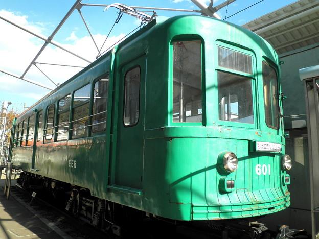 世田谷線:宮の坂駅-03「601車両」