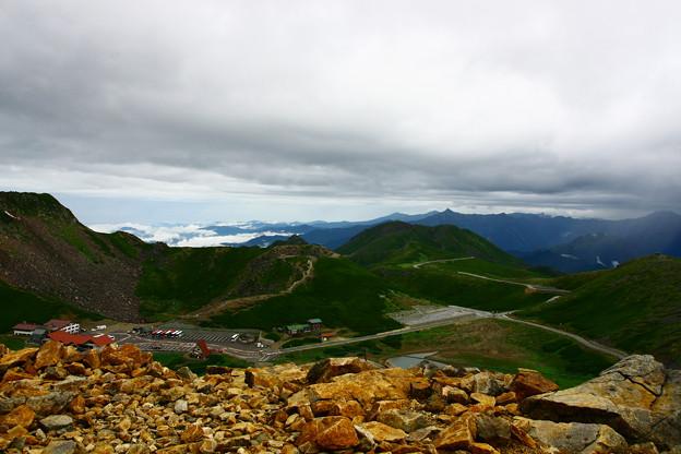 乗鞍 富士見岳 山頂から畳平