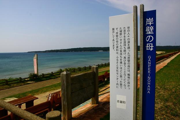 岸壁の母  世界一長いベンチ&日本海