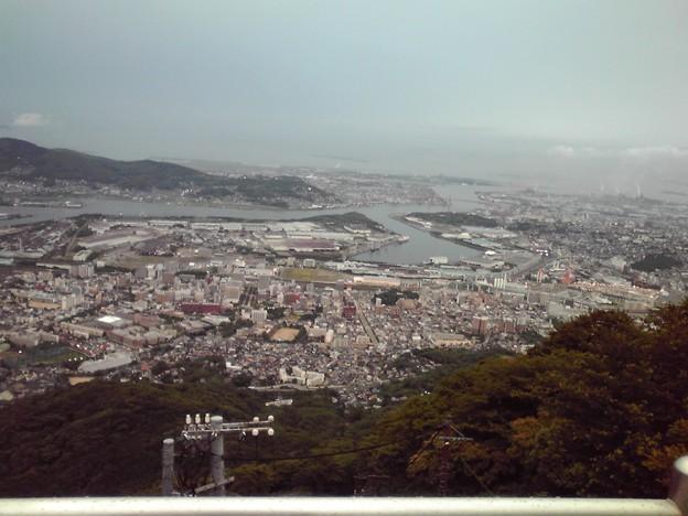 写真: 皿倉山