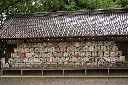 松尾大社 樽がいっぱい