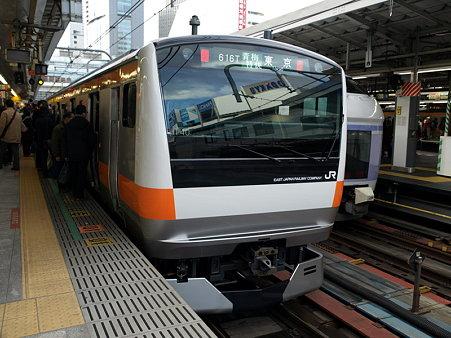 E233系(新宿駅)