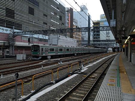 205系埼京線(新宿駅)