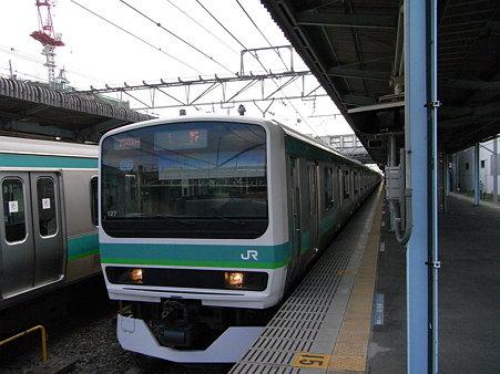 E231系常磐線(取手駅)