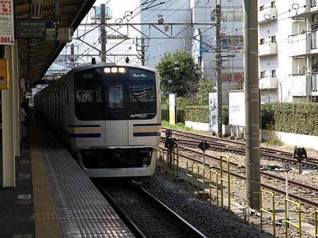 E217系(保土ヶ谷駅)