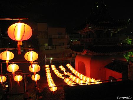 中国盆の夜に・・