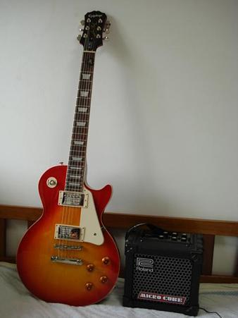 20090719 エレキギターとアンプ