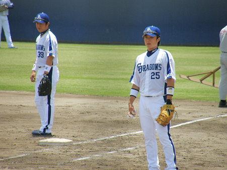 019 1塁には新井と将海!!