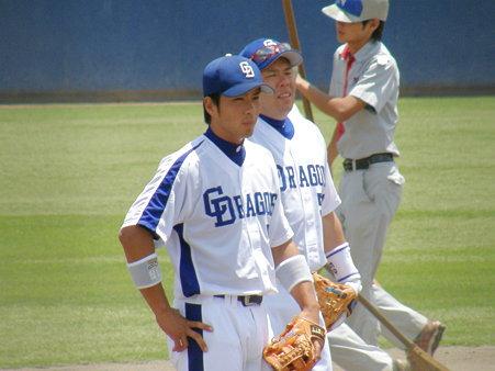 018 あれ!3塁に、福田と小田っ!