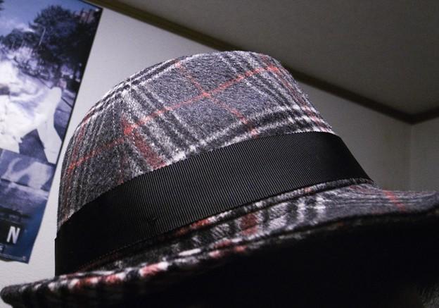帽子を一つ