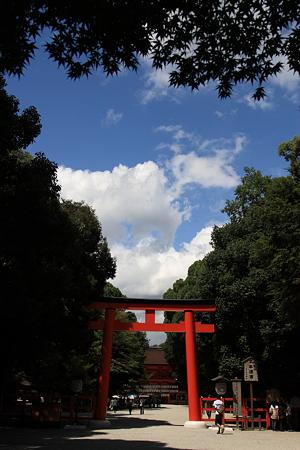 下鴨神社の参道