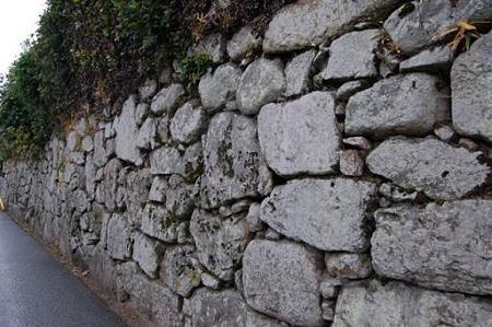 滋賀 穴太の里 盛安寺の石垣