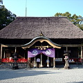 写真: 国宝 青井阿蘇神社 拝殿