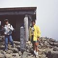 写真: 乗鞍山頂にて