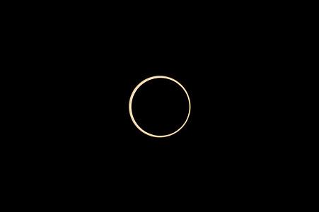 金環日食 最大 07:34