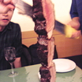 Photos: ブラジル肉を食べに行きました。満腹です!!