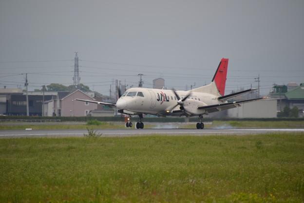 福岡発JAC3595便
