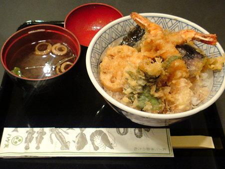 銀座ハゲ天札幌パセオ店 ランチ天丼