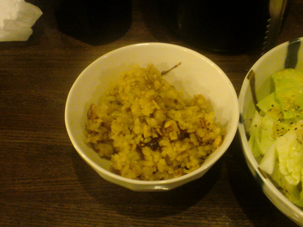 Photos: ドライカレー釜飯