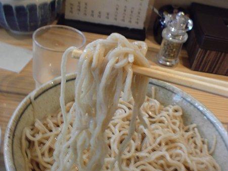 らーめん侘助 つけ麺の麺
