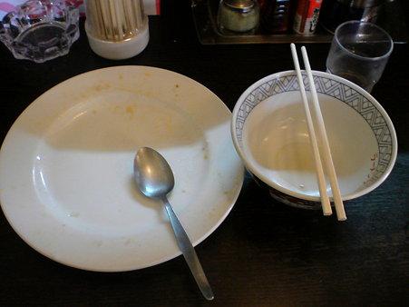 大将18条店 肉チャー特盛り完食