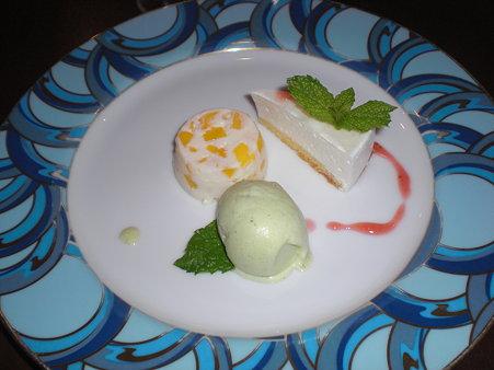 デザート3種盛
