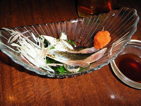 炙り秋刀魚のお造り