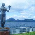 乙女と洞爺湖