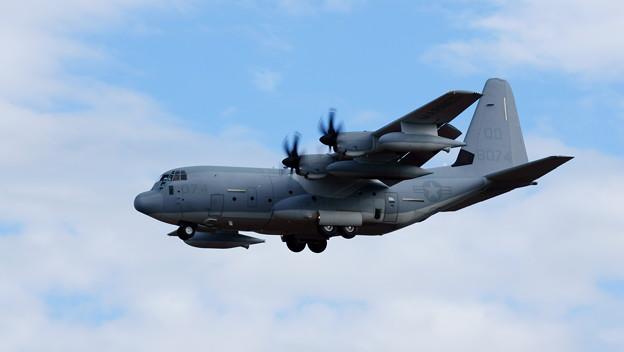 C-130 Hercules MARINES QD8074 Landing