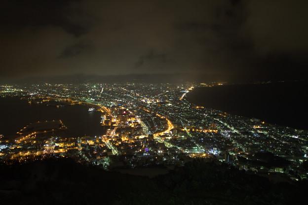 写真: 函館の夜景