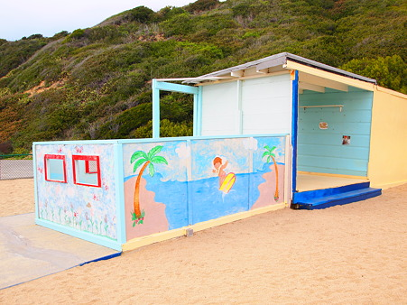 Playhouse by the beach