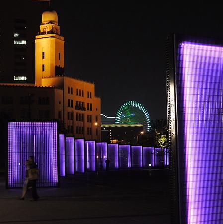 ドミノ広場の夜