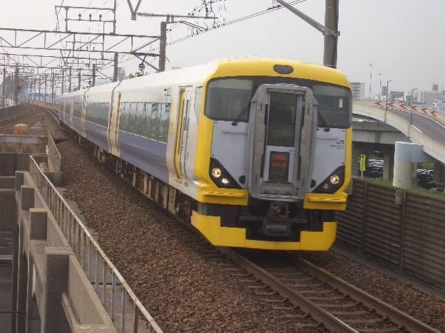 京葉線 特急わかしお安房鴨川行 CIMG8551